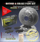 DK1341 5 Front Brake Rotors and Ceramic Pads