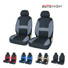Universal Auto Seat Covers Front Headrests Rear Bench Row For Car Truck Suv Van