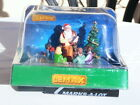 NEW 2019 LEMAX 93435 Santa Reading Children Tree Gifts Christmas Holiday Village