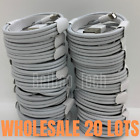 Lot of 20 Bulk 3Ft 6Ft USB Apple iPhone 11 Lightning Charger Charging Cable Cord