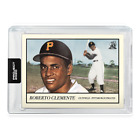 Roberto Clemente 78 - 1955 Topps PROJECT 2020 Card by Oldmanalan - PR-8610