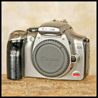 CLEAN Silver Canon Rebel EOS 300D Digital SLR Camera + Extras