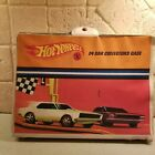 1967 Hotwheels yellow 24 car collector carrying case
