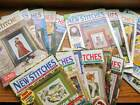 Mary Hickmott NEW STITCHES Cross Stitch Magazine Choose Your Issue