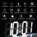 Remote Control Large LED Digital Wall Clock w Countdown Timer Temperature Date
