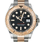 Rolex 116621 Yachtmaster YM 40 18kt Rose Gold Steel Black Box Papers Everose