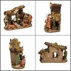 Kurt S Adler Resin Stable 11 Piece Kurt Adler Nativity Set with Figures Quality