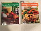 Lot of 2 WEIGHT WATCHERS 2006 COMPLETE FOOD Dining out POINTS Plus reference