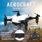Mini Drone RC Helicopter Foldable Drones Quadcopter HD Wifi FPV with Camera