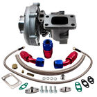 T3 T4 T04E STAGEIII TURBO +OIL FEED+OIL RETURN FOR CIVIC CRX 88 D16 D16 Y7 D16Y