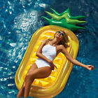 Pineapple Inflatable Raft Swimming Pool Floats for Outdoor Party AdultsKids US