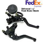 Universal 7/8'' Motorcycle Front Brake Clutch Master Cylinder Reservoir Levers