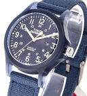 Timex Damenuhr Expedition Acadia TW4B09600 Textilband jeansblau Beleuchtung 5ATM