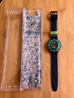 SWATCH - BLUE MOON SCUBA, Circa 1991 - Model SDN100 - Absolutely New in Box -