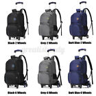 6 Wheels Trolley Backpack Children Boys School Rucksack Travel Handbag Luggage