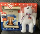 TY Beanie Baby Libearty The Bear McDonald's 1996 Mint Never Opened