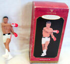 1999 HALLMARK KEEPSAKE ORNAMENT Muhammad Ali IN ORIGINAL ILLUSTRATED BOX