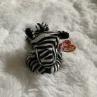 TY BEANIE BABY-ZIGGY THE ZEBRA-DOB 12/24/1995-NEW WITH HANG AND TUSH TAGS!!