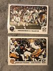 (2) 1977 Fleer Football WALTER PAYTON 2nd Year Card Lot - BEARS - NICE CONDITION