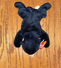 Extremely Rare 1994 BLACKIE THE BEAR BEANIE BABY ALL ERRORS ,PVC PELLETS, MINT