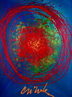 Float (Blue), Offset Lithograph, Dale Chihuly