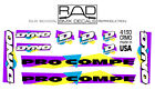 1990 Dyno Pro Compe Decal Set  Old School BMX Decals