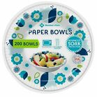 Members Mark Printed Paper Bowls 12 oz 200 Count Free Shipping