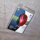 Logitech M305 Wireless Mouse Red NEW Sealed