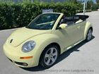 2006 Volkswagen New Beetle Convertible below $11000 dollars