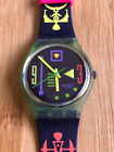 SWATCH - STALEFISH, Circa 1991 - Model GW113 Vintage Absolutely New in Box