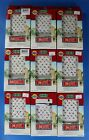 Lemax Christmas Village Accessory LOT 9 Packs- 36 Chasing Mini Lights Color
