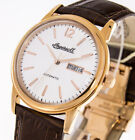 Ingersoll 1892 Herrenuhr The New Haven I00503 Farbe rosegold Lederband Holzbox