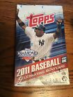 2011 Topps Baseball series 1 box Hobby