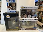 4 Piece Lot Of Funko Pop Star Wars Exclusives All New Never Opened