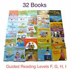 Lot of 32 CAPSTONE Grade 1 Guided Reading Levels F G H I  Leveled Readers