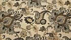 Discount Fabric TAPESTRY Gray  Taupe Floral Upholstery Fabric
