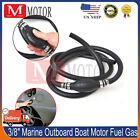 3 8 Marine Outboard Boat Motor Fuel Gas Hose Line Assembly WITH Primer Bulb