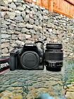 Canon EOS 1000D  10.1MP Digital SLR Camera - Black +extras. Collection only.