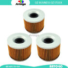3Pcs Engine Oil Filter Fit Benelli354 T Touring 1979-1981 1982 1983 1984 1985