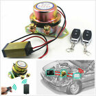 Electromagnetic Solenoid Valve Battery Switch w 2 Pcs Wireless Remote Control US