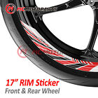 17'' AWNING 8pcs Wheel Stickers For Ducati Streetfighter Hypermotard 1100