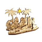 Nativity Star 3D wooden puzzle DIY Christmas gifts adults  children