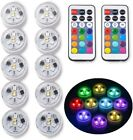 10pc Swimming Pool Light RGB LED Bulb Underwater Color Vase Dec Light