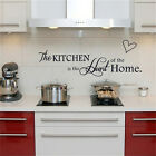 Kitchen is the Heart of Home Wall Stickers Quote Removable Wall Decal Deco EP P1