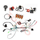 Electric Start Full Wiring Harness Loom Speedometer Alarm Flasher for 50cc 125cc