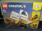 LEGO 31109 Creator Pirate Ship 3 In 1 ~ Authentic, Brand New, Sealed  ~