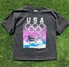 VTG 90s Hanes Pepe Le Pew Looney Tunes USA Olympics SINGLE STITCH T Shirt XL