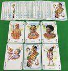 Old Vintage Non Standard KENYA TRIBUS Sapra Playing Cards AFRICAN NATIVE TRIBES
