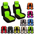 9pcs Full Set Universal Auto Front Seat Covers Protector For Car Truck Suv Van