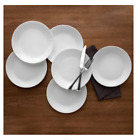 Livingware Dinner Plates 1025 Winter Frost White Set of 6 by Corelle